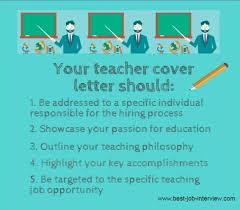 Bunch Ideas Of Cover Letter For Kindergarten Teacher Job For Your