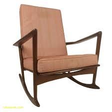 modern rocking chair lovely mid century modern danish rocking lounge chair