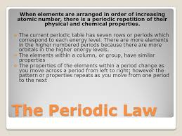 Periodic Trends. - ppt download