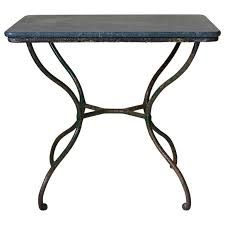 wrought iron side table. Small Wrought Iron Side Table, France 19th Century For Sale Table I