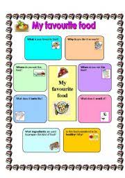 images of my favorite food template net my favorite food worksheet