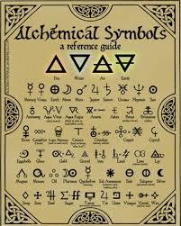 Alchemy Chart Print This Free High Quality Chart Of Alchemy Symbols Make