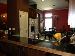 Paint For Living Room And Kitchen Attractive Color Schemes For Living Room And Kitchen With Red And