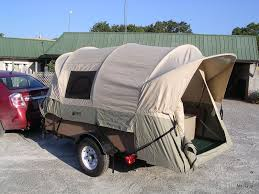 diy tent trailer this is a truck bed tent on a trailer if you through to the link he explains how he did it so that all he has to do