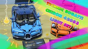 Lego Bugatti Chiron Light Kit Installation Lego Technic Bugatti Chiron 42083 Light Kit Detailed Speed Build Lightailing