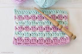 Block Stitch Crochet Pattern Interesting Inspiration