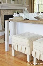 diy sofa table. The Easiest Rustic DIY Sofa Table With Dipped Legs Diy