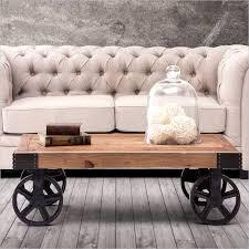 image of cart coffee table uk