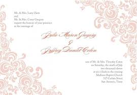 Formal Invitation Maker 016 Template Ideas Wedding Templates Free Download Ms Word