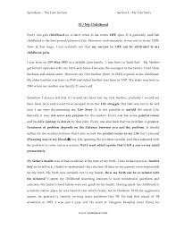 what is life skills essay general