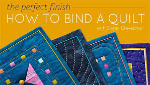 How to Bind a Quilt Online Class | Craftsy &  Adamdwight.com