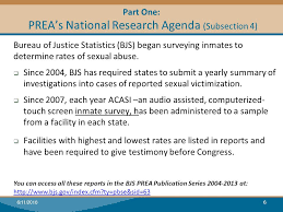 Prison Rape Elimination Act (Prea) Basics: What Rsat Programs Need ...