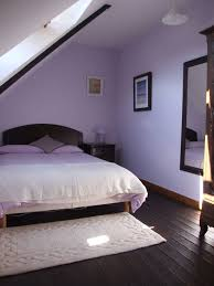 smart attic purple bedrooms ideas with white cover for queen size bed frames as well as wall mount bedroom mirror designs