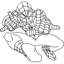 For kids & adults you can print spiderman or color online. 50 Wonderful Spiderman Coloring Pages Your Toddler Will Love