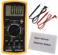 dt9025a ac dc professional electric handheld tester meter digital multimeter