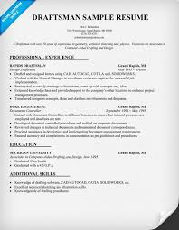 civil draftsman resume format - Draftsman Resume Sample