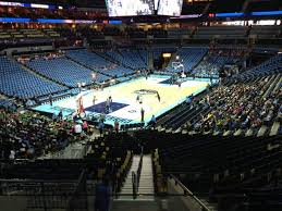 Spectrum Center Section 116 Row Aa Home Of Charlotte
