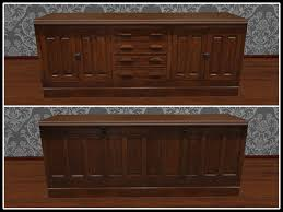 RE Old Wood Store Counter - One Prim - Saloon Bar, Hotel Desk, Dining
