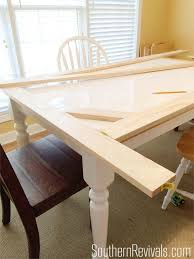 Tile Top Table Makeover | How We Updated a Tile Top Table with Wood  SouthernRevivals.