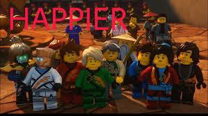 Happier (Marshmello) - Ninjago Tribute   Ninjago, Tribute, Lego ninjago