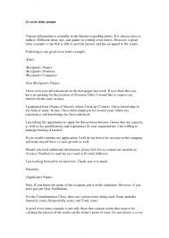 Speculative Cover Letter Sample Hr Assistant Cover Letter Example