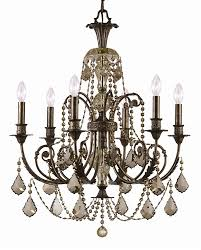 oil rubbed bronze crystal chandelier splendid on dining room throughout chandeliers hanging lights the home depot coffee 12
