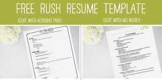 Sample Sorority Resume Classy Rush Resume Template Sorority Rush Resume Template 48 Related