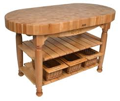 Kitchen Work Table Wood Kitchen Decoration With Ikea Reclaimed Wood Countertops Red Wooden