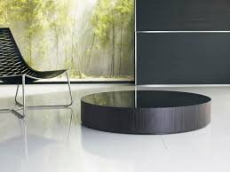 contemporary coffee table glass round berkeley 12in berkeley 8in