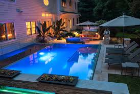Small Backyard Pool Ideas NJ Landscape Design Swimming Pool