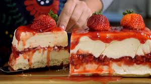 chocolate strawberry cheesecake. Delighful Cheesecake And Chocolate Strawberry Cheesecake