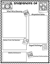 Preschool Newsletter Template Stunning FREE Monthly Calendars And Newsletter Templates FINALLY Just What