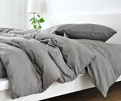 Amazon.com: Handmade Medium Grey Duvet Cover, Grey Linen Duvet ... & Handmade Medium Grey Duvet Cover, Grey Linen Duvet Cover, Grey Bedding,  Custom Bedding Adamdwight.com