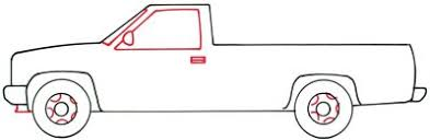 3. Windows and Hubcaps - How to Draw a Pickup Truck | HowStuffWorks