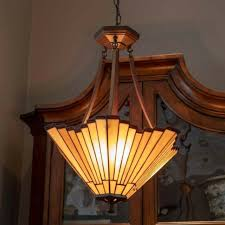 tiffany style 18 hanging chandelier