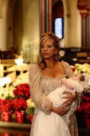 dina manzo wedding dress. dina manzo with baby audriana, loved her dress! wedding dress a