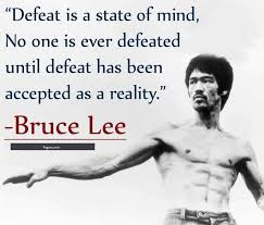 Bruce Lee Quotes Amazing This Quote Is About Bruce Lee Quotes In Which He Defines The Defeat