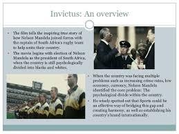 movie invictus leadership analysis invictus