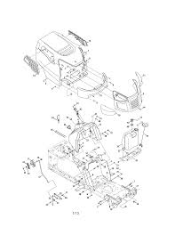 Craftsman model 247288843 lawn tractor genuine parts
