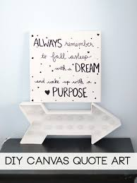 Canvas Wall Art Quotes Custom 48 48w With Canvas Wall Art Quotes Diy