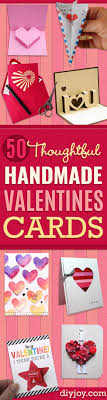 diy valentines day cards easy handmade cards for him and her kids freinds