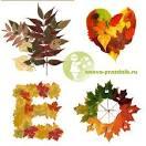 Осенние поделки из листьев поэтапно