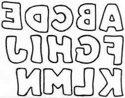 Templates Alphabet Letters Free Printable Block Letters Applique Letters Letter