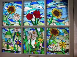 mosaic stained glass windows