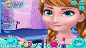 frozen anna prom make up design anna makeup tutorial game frozen makeup games