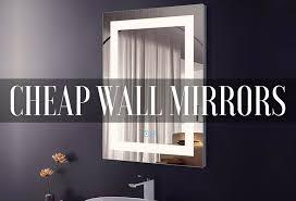 Bathroom wall mirrors Black Best Cheap Bathroom Wall Mirrors 2019 Mirrorank Best Cheap Bathroom Wall Mirrors 2019 reviews Mirrorank