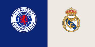 Rangers vs Real Madrid- Football Club ...