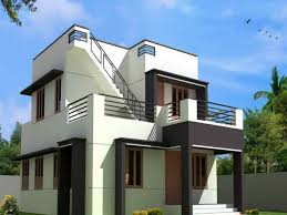 Image of: Simple Modern House Plans Free
