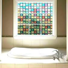 stain glass window decal stained glass window faux stained glass window stained glass window