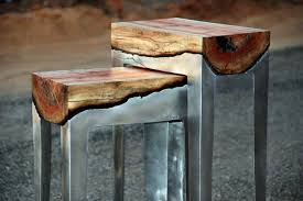 Art - Cool furniture from wood and metal of Hilla Shamia